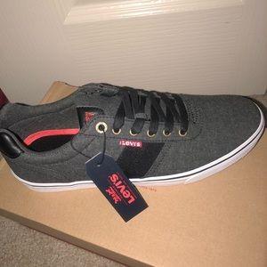 Levi's Black Shoes Size 9